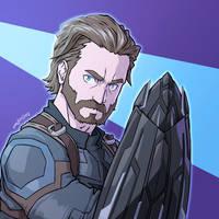 Captain America (Infinity War) by SIMGart