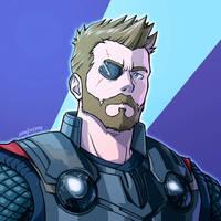 Thor (Infinity War) by SIMGart