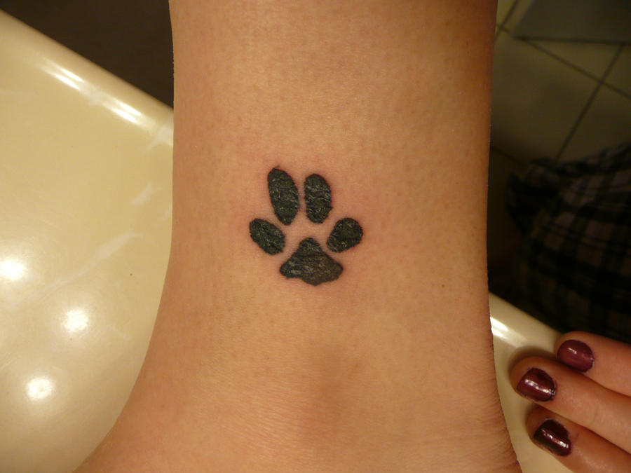 Pawprint tattoo by sparkfish on deviantart for Tattoo shops in northern va