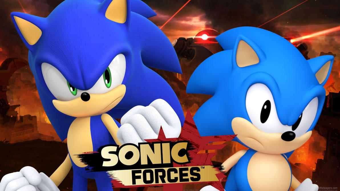 Sonic Forces Wallpaper And Classic By XSpeedo