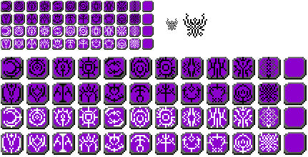 Three Houses Crests - GBA Sprites