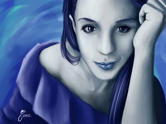 Luna again. by LordTerrato