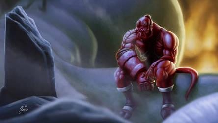 Hellboy by LordTerrato