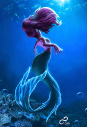 Yet another mermaid by LordTerrato