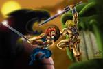 Lion-O VS He-Man