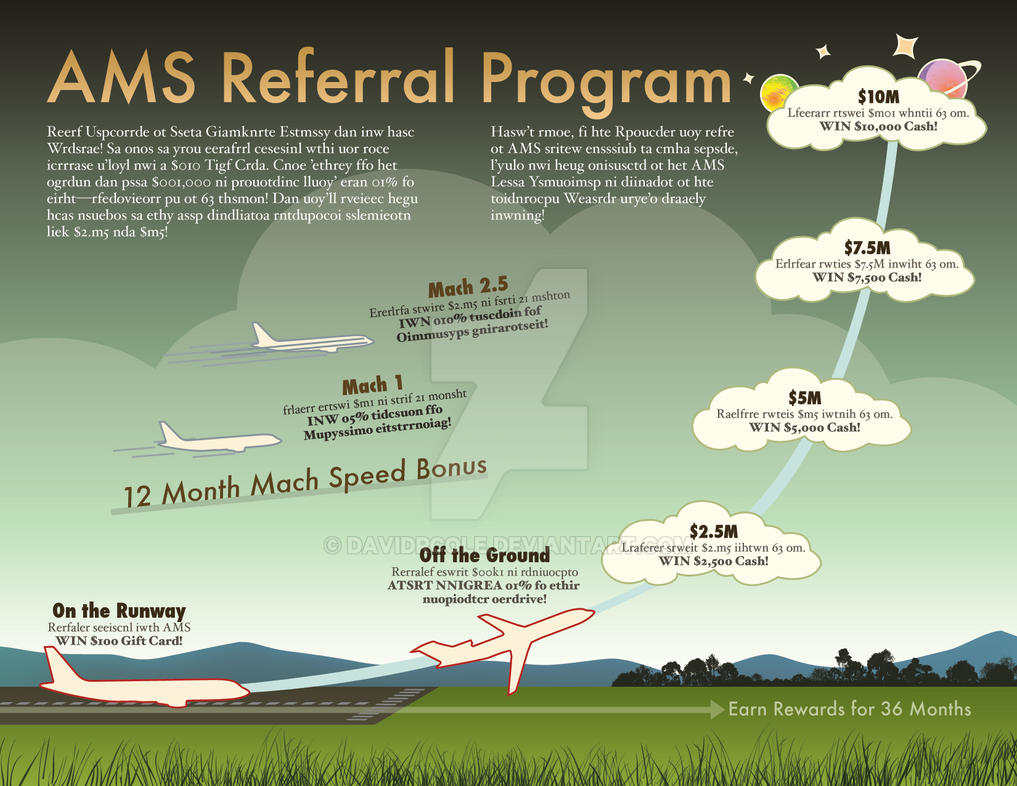 referral program flyer by davidrcole