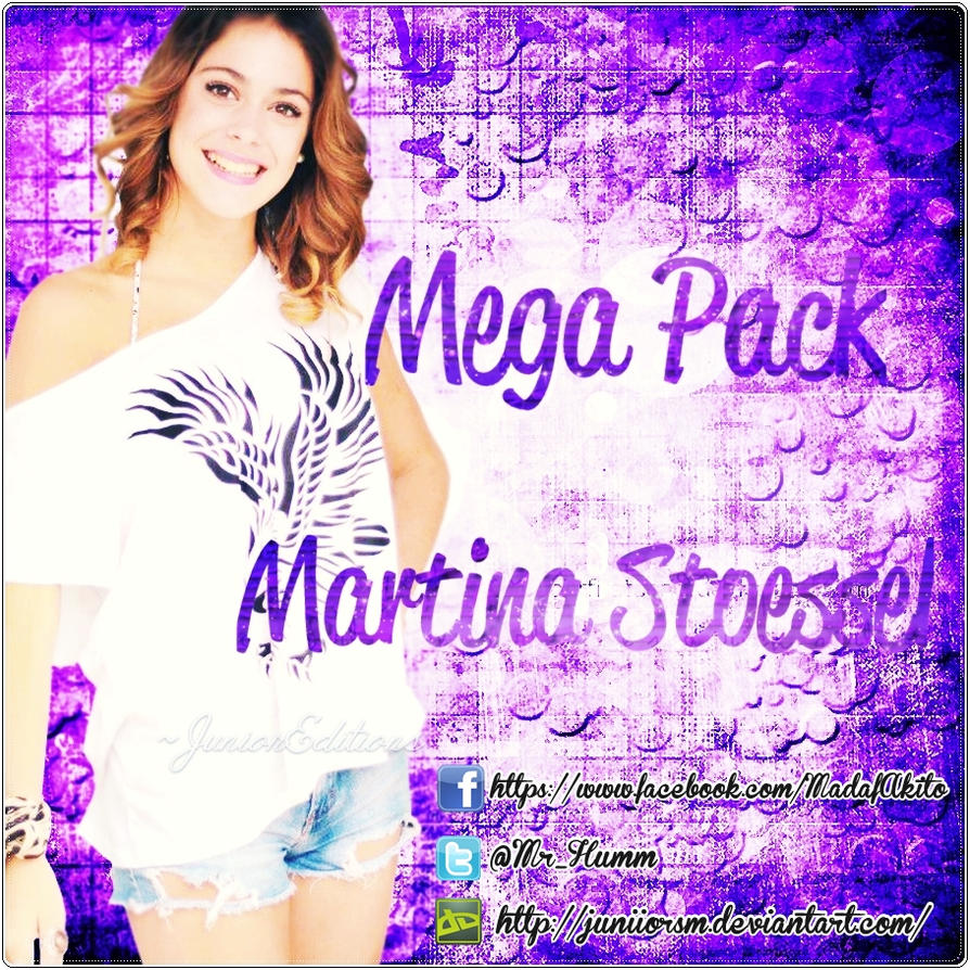 Dia2 MegaPack de Martina Stoessel by JuniiorSm