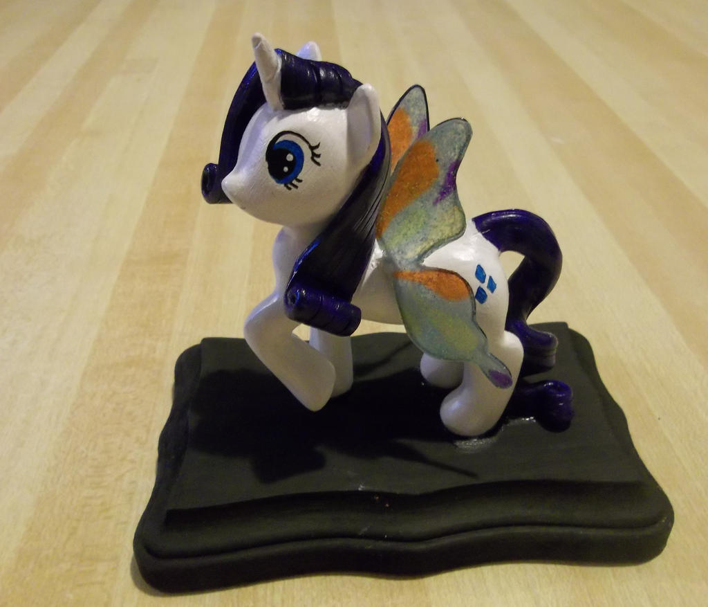 Rarity with butterfly wings