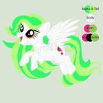 Adoptable-Open-Melon Drop-My little Pony OC