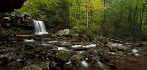 Cloudland Falls Redux by theon07
