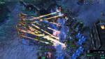 StarCraft 2 Protoss vs Terran by bbqjoe