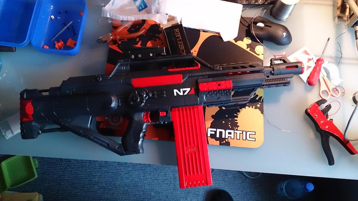 Mass Effect N7 Stampede Nerf Gun by bbqjoe