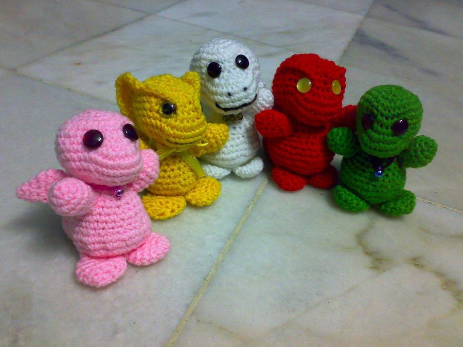 Cute Dragon Amigurumi Pattern : Crochet baby dragon amigurumi by sharastar on deviantart