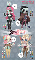 ADOPTABLE: 2edgy 2soft [FLAT SALE - OPEN]