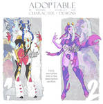 ADOPTABLES: Monster gals [CLOSED]