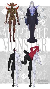 ADOPTABLES: November Monsters [2/3 OPEN]