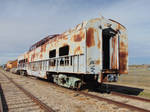 rusted Dome car
