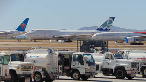 Fuel Trucks and Air Liners
