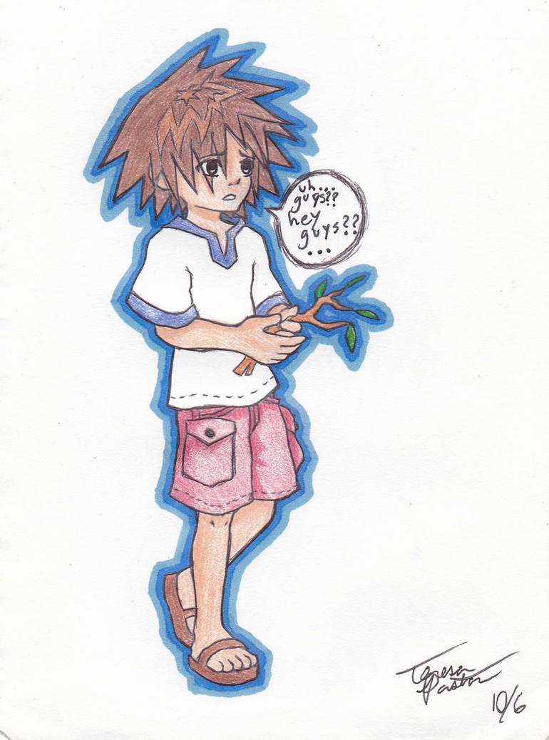 6 year old sora by la anime