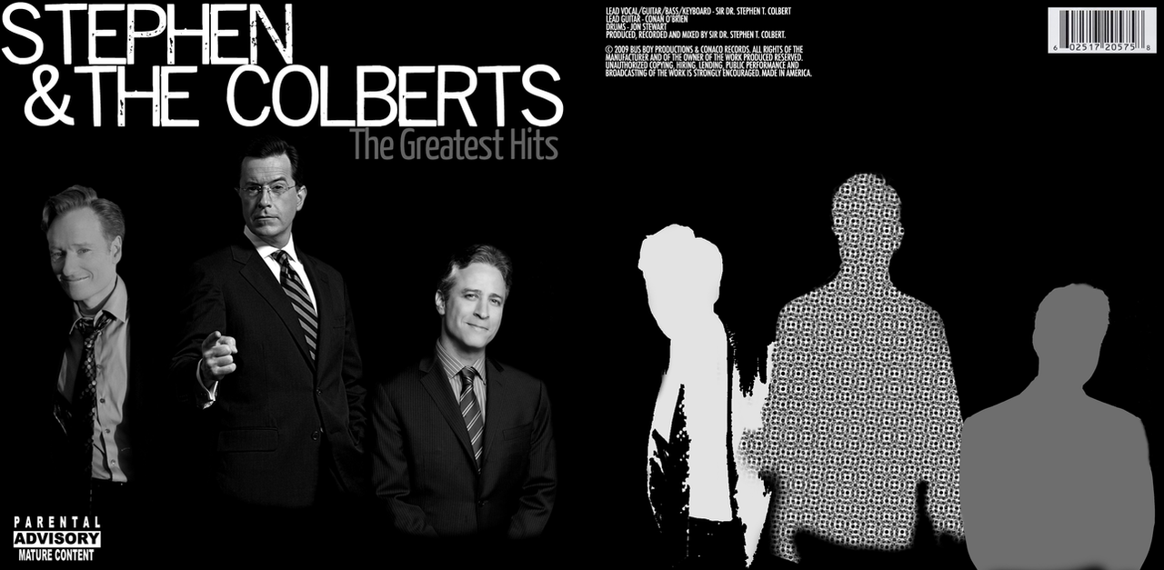 Stephen and The Colberts CD by fadedsg