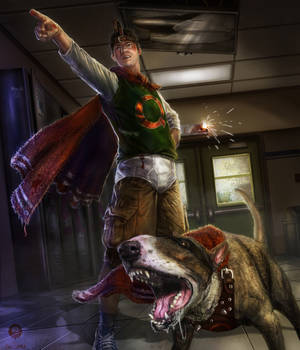 Doug's Quail-man - The Bloody Cartoon Tournament
