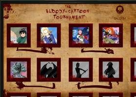 The Bloody Cartoon Tournament (preview) by DavidGalopim