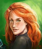 Kim Possible portrait by DavidGalopim
