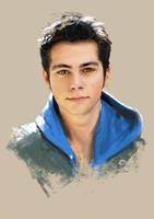 Dylan O'Brien portrait by DavidGalopim
