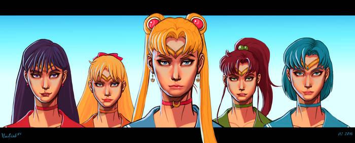 Sailor Moon: 5 Warriors