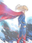 Supergirl by bookwormblue0616