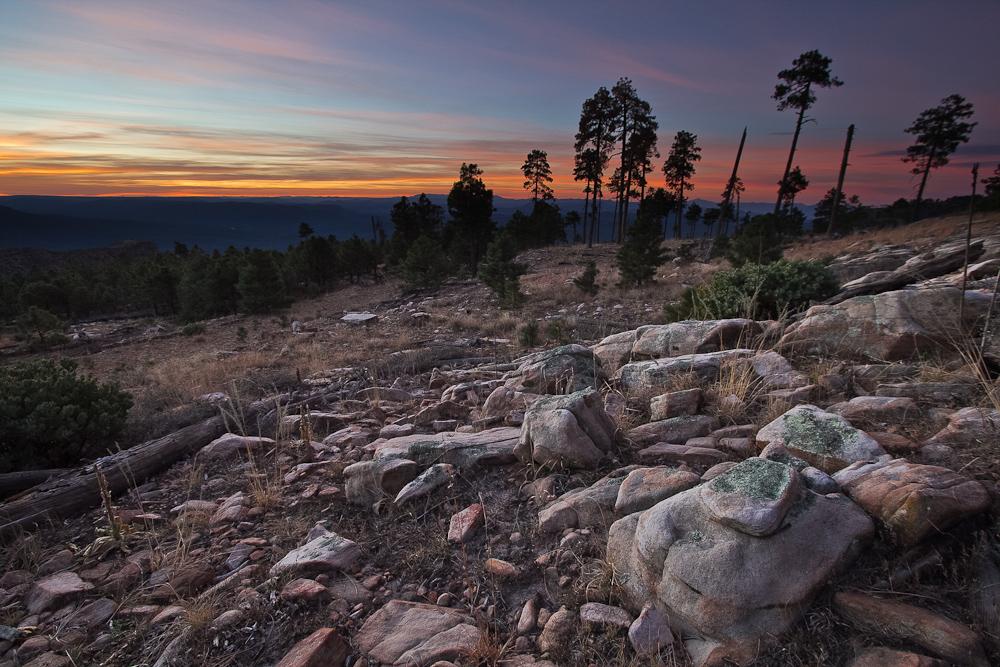 Mogollon Rim Sunrise by mofig