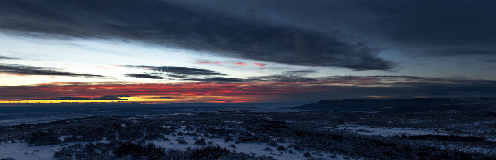 Dinosaur Monument Sunset by mofig