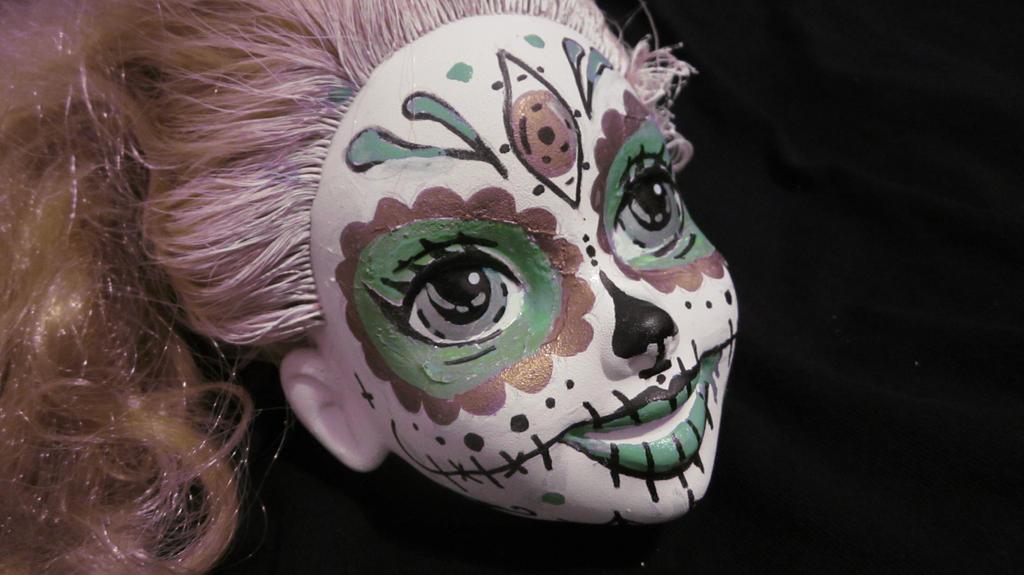sugar skull by dookie1eR