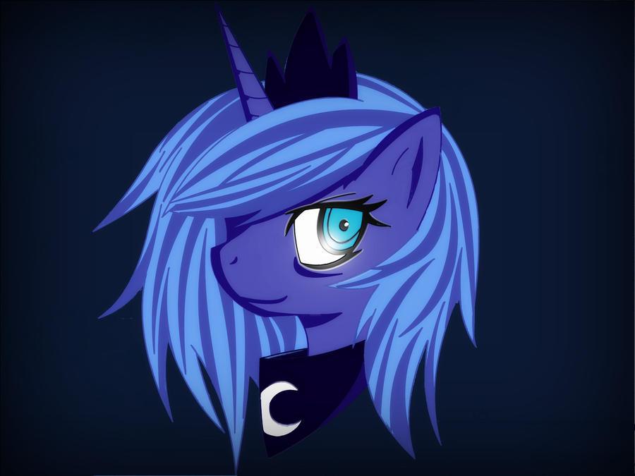 Princess Luna by ChaoticCoffee64