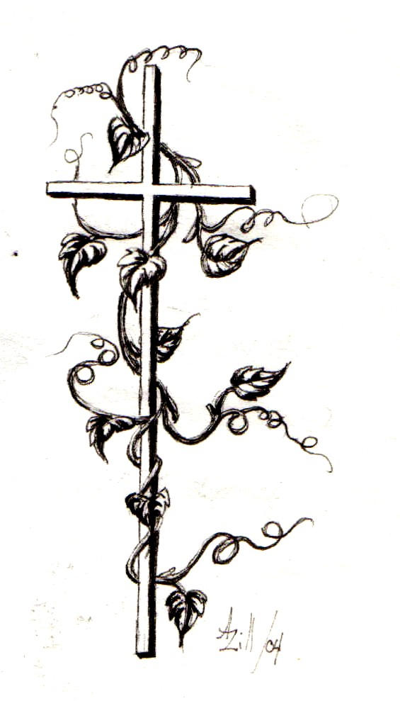 Cross and Ivy Tattoo by alwaysandcontinuousl on DeviantArt