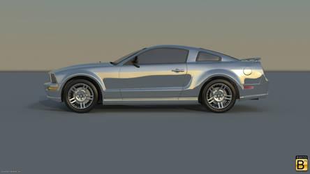 Shiny Mustang