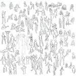 100+ female poses
