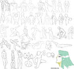 41 male poses