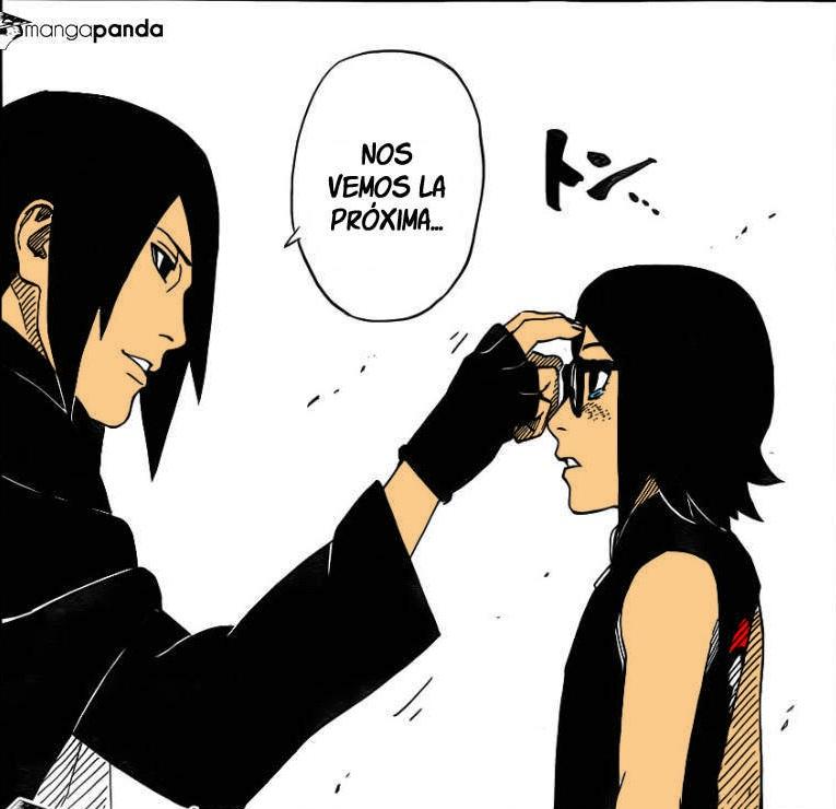 Sasuke Y Sarada by iron-ghos