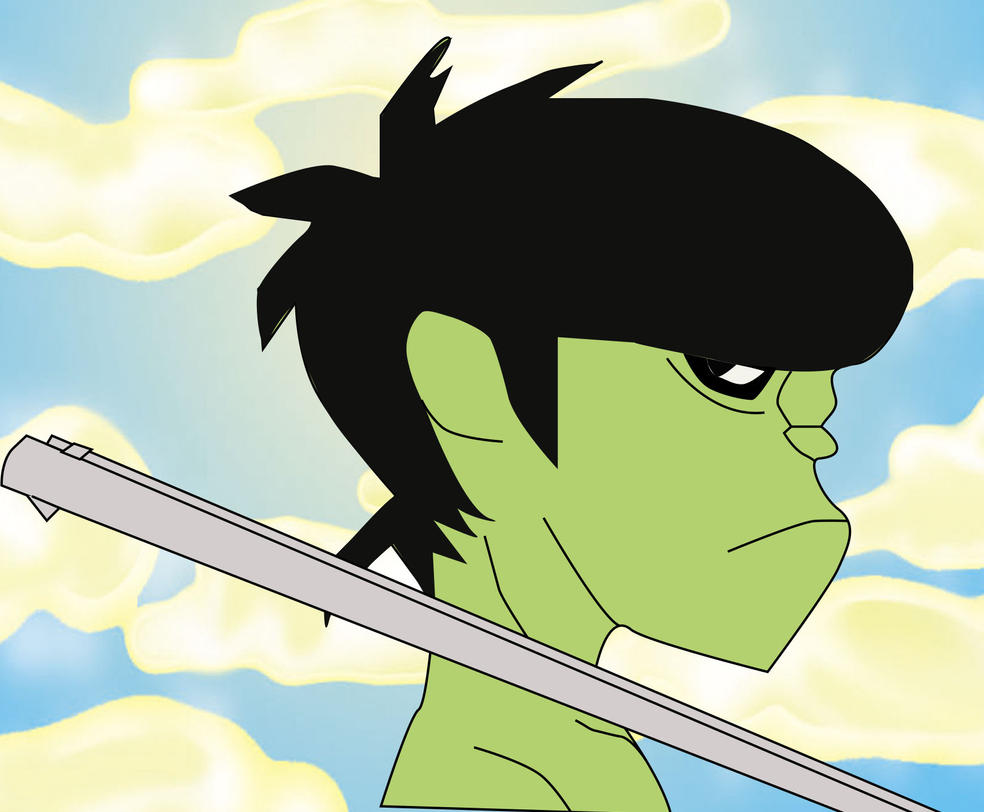 Murdoc by iron-ghos