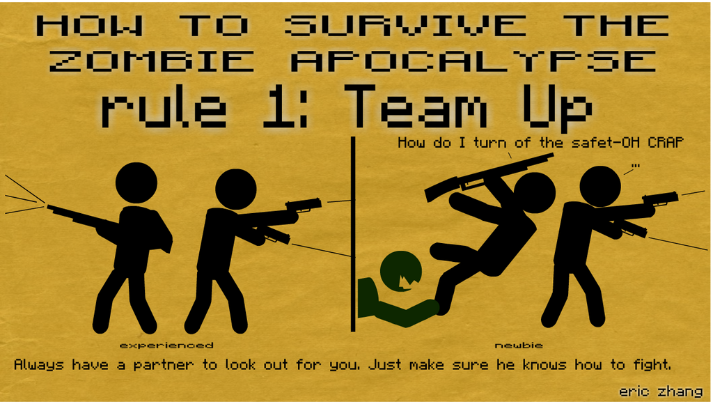 How to survive a zombie apocalypse book uk vhs