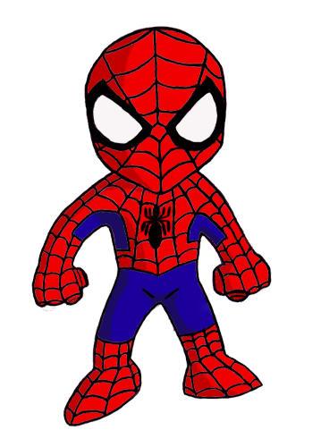 Spiderman cute - photo#8