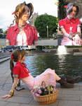 FFVII Aeris cosplay