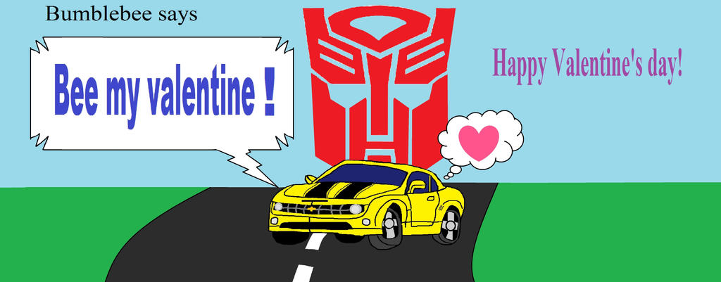 Transformers Bumblebee Valentineu0027s Day Card By ...