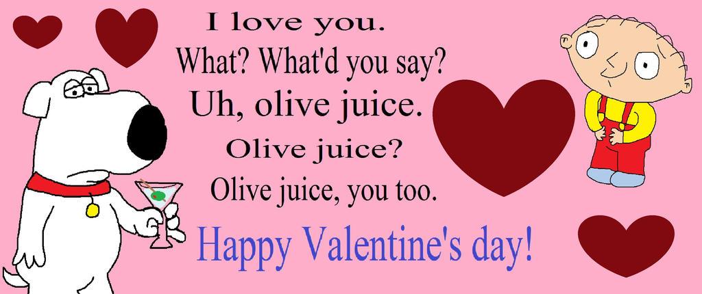fg: brian and stewie valentine's day cardbarricade9-1-1 on, Ideas