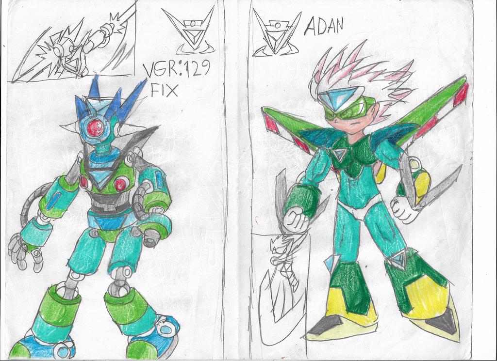 Knights Virus guards VGR129 FIX and Adan by pokeball012