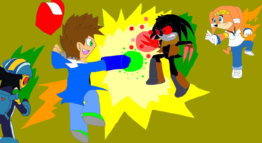 Tag Team battle vs Eclipse R0 by pokeball012