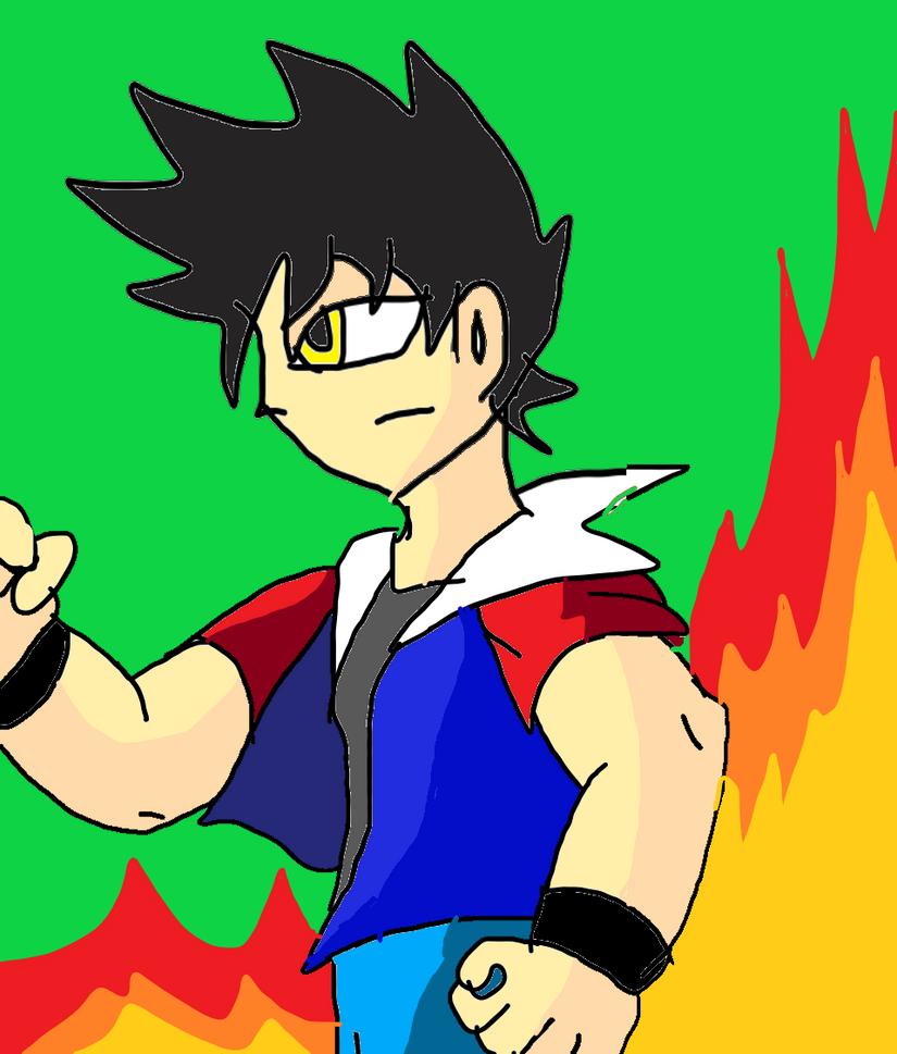 Dragon boy David the Dragon by pokeball012