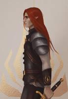 Leather armor practice by MAnisimova