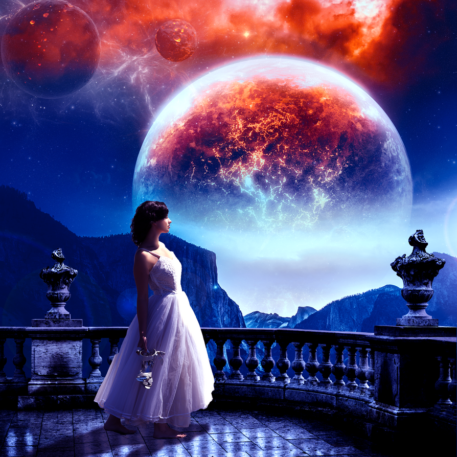 Fantasy Landscape by vmaharaj